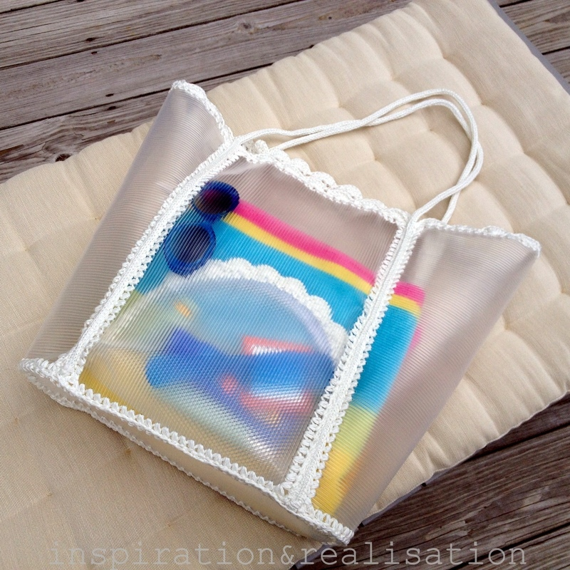 Make A Transparent Cosmetics Clutch  How To Make A Pouch