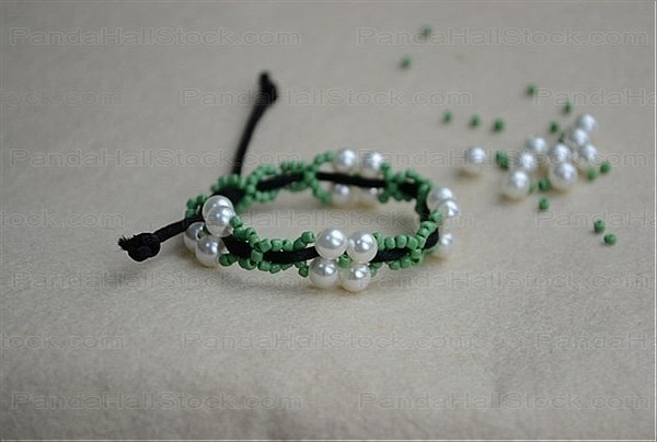 How To Make Bracelets With String And Beads  How To Make