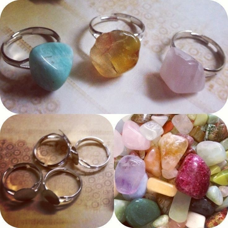 Fast And Easy RockStone Rings How To Make A Gemstone