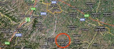 Scossa di terremoto in provincia di Reggio Emilia