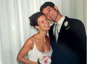 Alessandra Moretti con il fratello Carlo