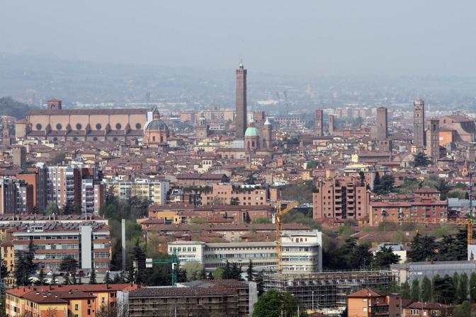 Urbanfile BOLOGNA  Bologna vista dalla Torre Unipol
