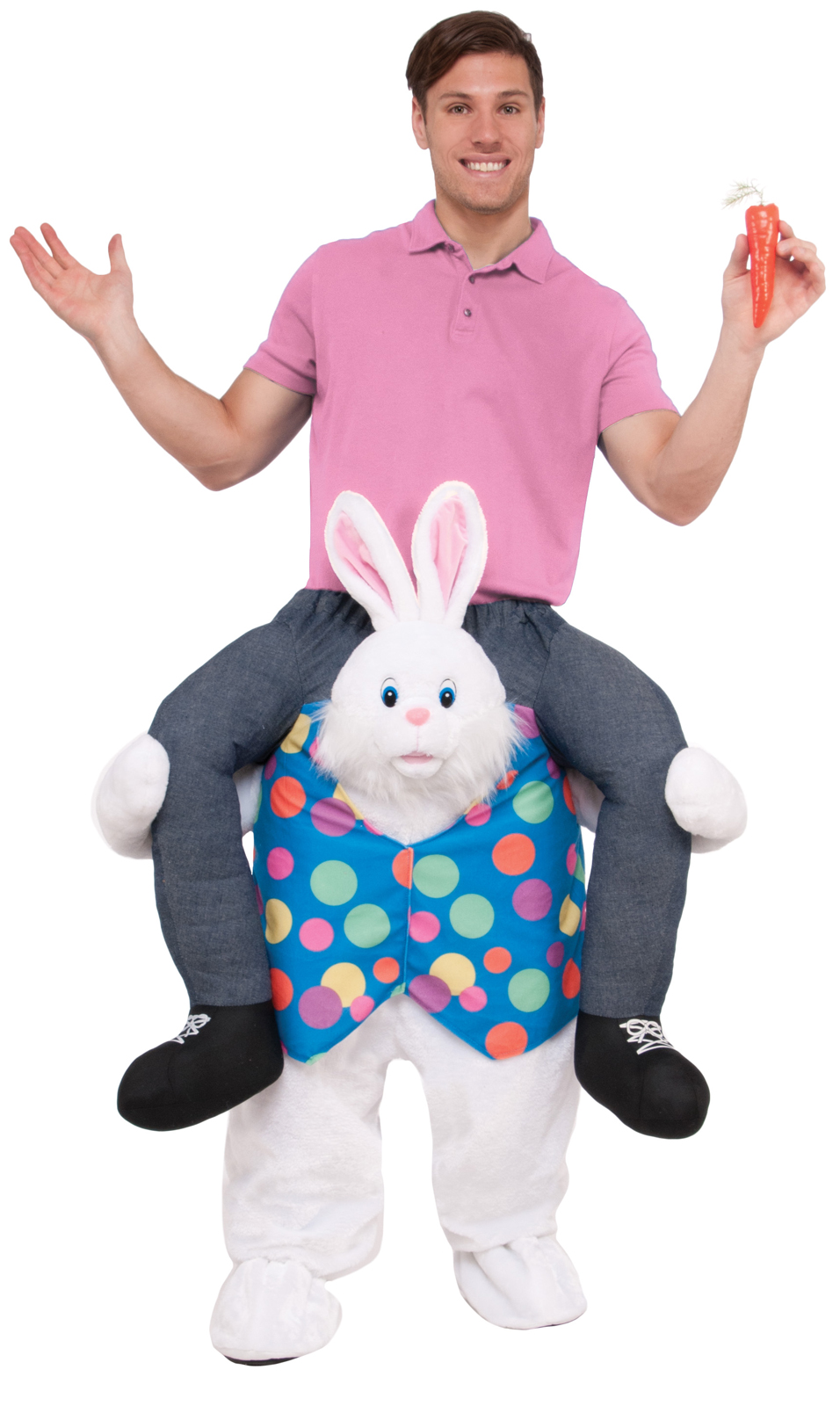 Ride Easter Bunny Adult Costume