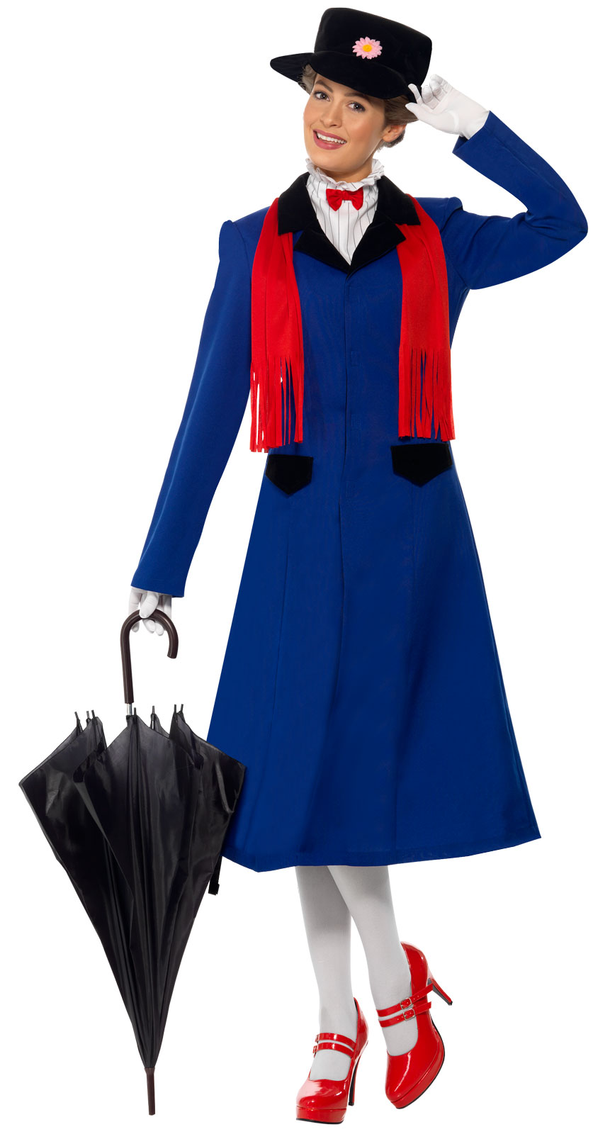 Mary Poppins Costume Adults - Women' Halloween