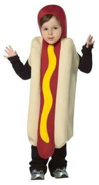Buy Hot Dog Toddler Costume