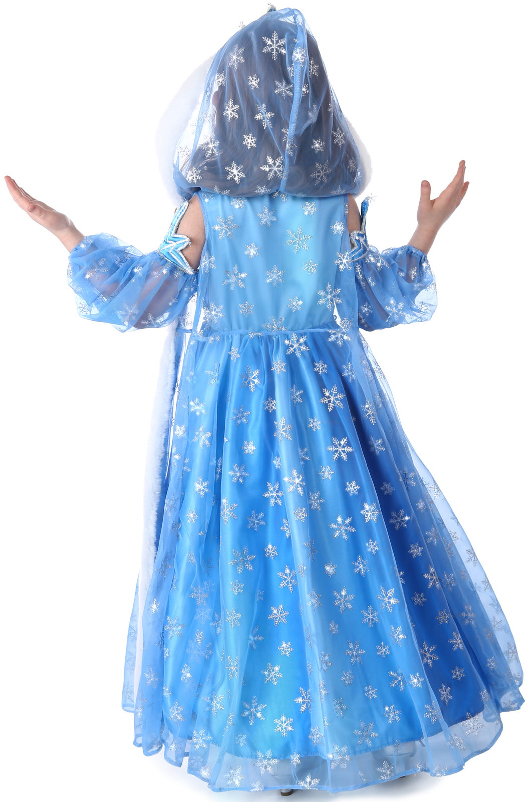 Icelyn Winter Princess Dress And Cape