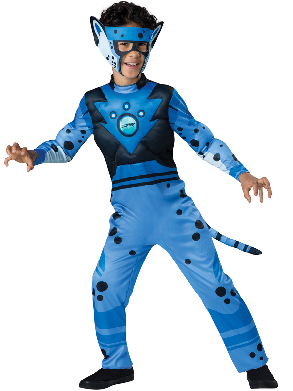Buy Wild Kratts Quality Cheetah Blue Costume For Kids