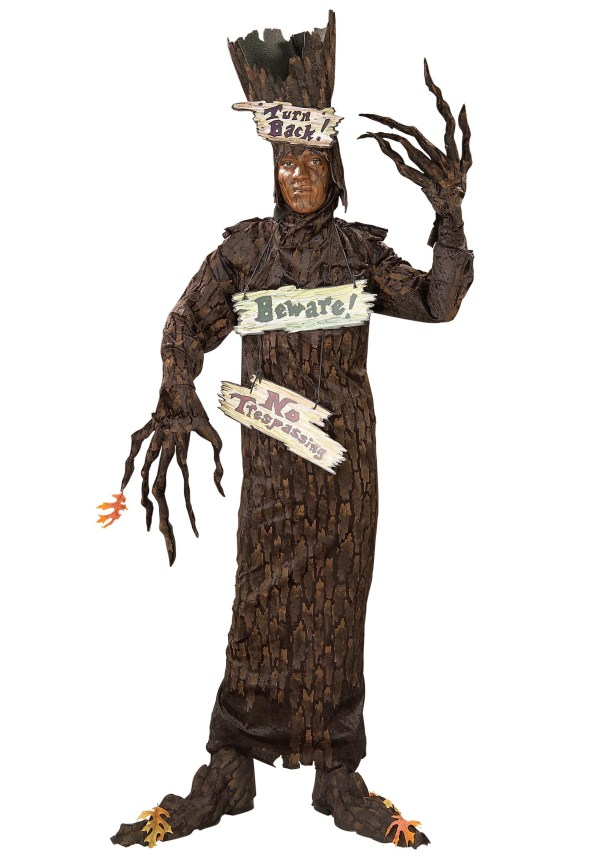Adult Scary Tree Costume - Wizard Of Oz Costumes