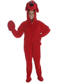 Adult Clifford Costume - Clifford the Big Red Dog Costume ...