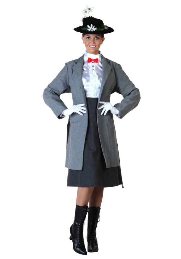 Mary Poppins Costume - Adult Disney Costumes