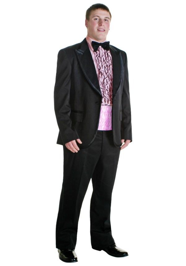 Pink 80s Tux Costume - Classic 1980s Costumes