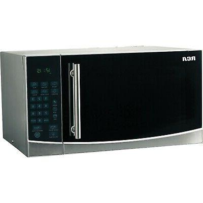 rca 1 1 cu ft microwave stainless steel kitchen dining evertribehq small appliances