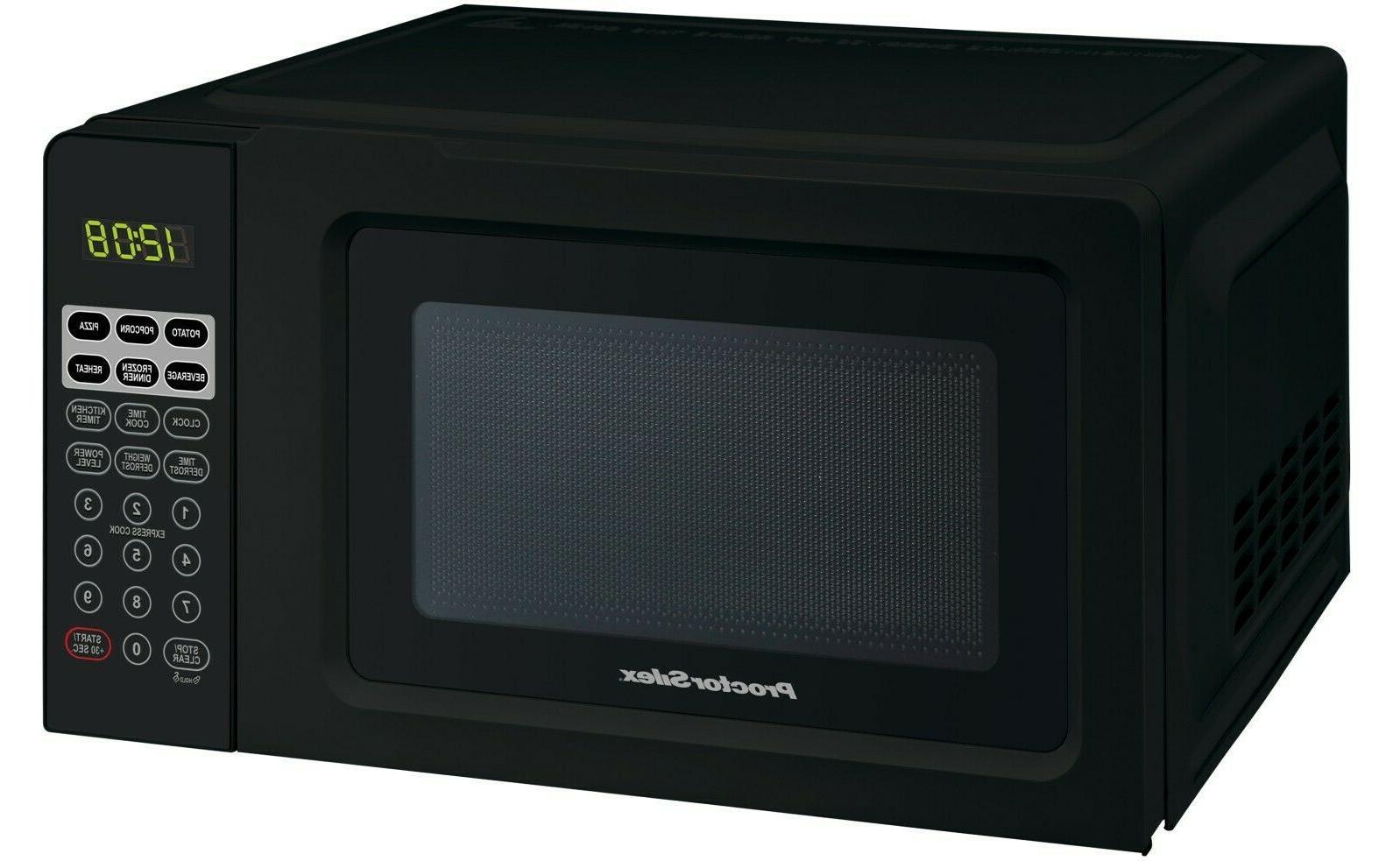microwave oven digital compact countertop 7 cu ft best value proctor silex major appliances home garden