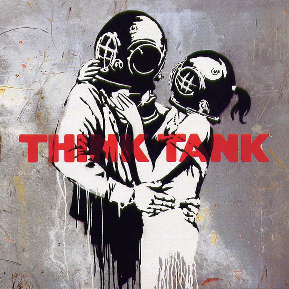Caratula frontal de Blur - Think Tank