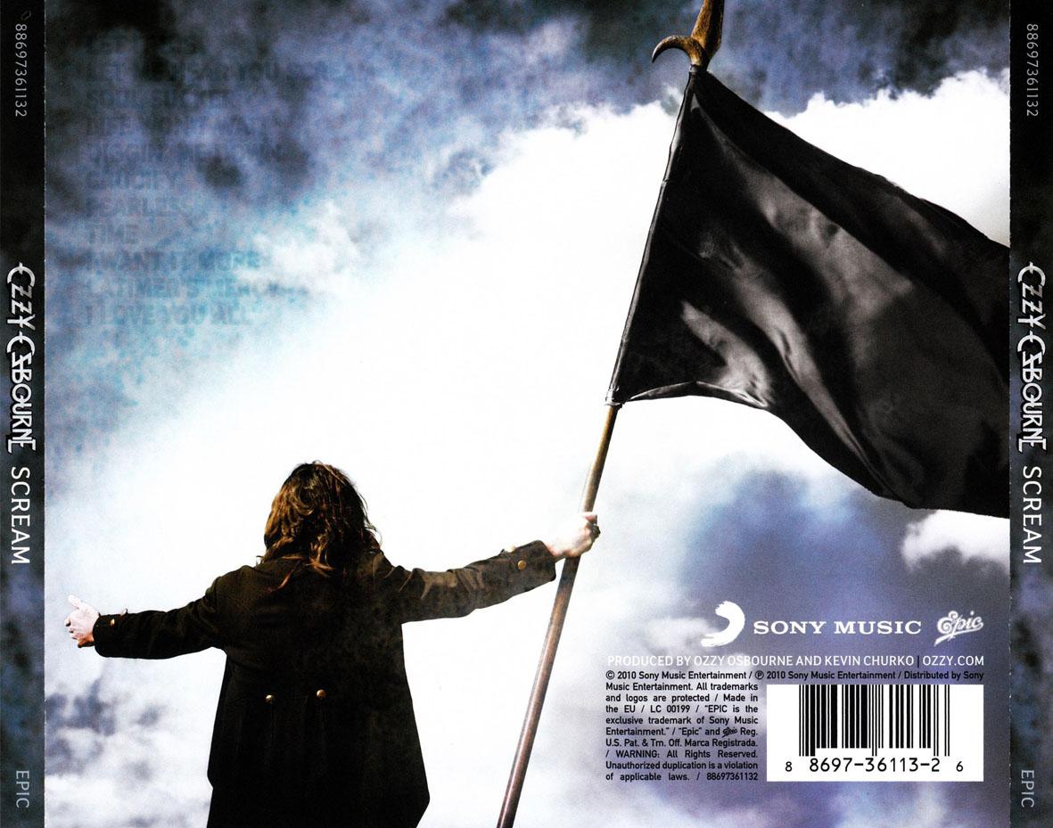 Cartula Trasera De Ozzy Osbourne Scream Portada