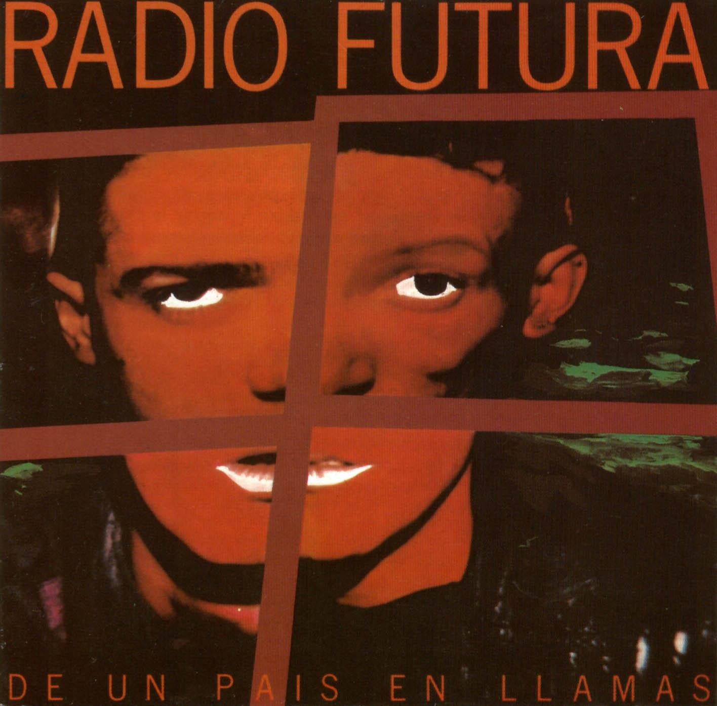 Caratula frontal de Radio Futura - De Un Pais En Llamas