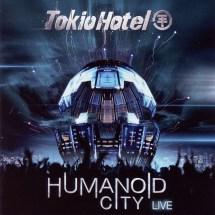 Cartula Frontal De Tokio Hotel - Humanoid City Live Portada