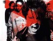 Cartula Interior Trasera De Tokio Hotel - Schrei Portada