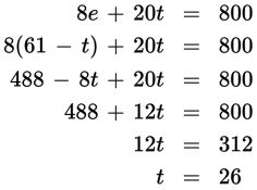 SAT Math Multiple Choice Question 400: Answer and