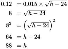 SAT Math Grid-Ins Question 164: Answer and Explanation