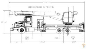 FreeCraneSpecs.com: Gradall 544D-10 Crane Specifications
