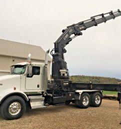 sold 2006 kenworth t800 hiab xs 600 knuckle boom crane crane for in wellman iowa on  [ 1200 x 900 Pixel ]