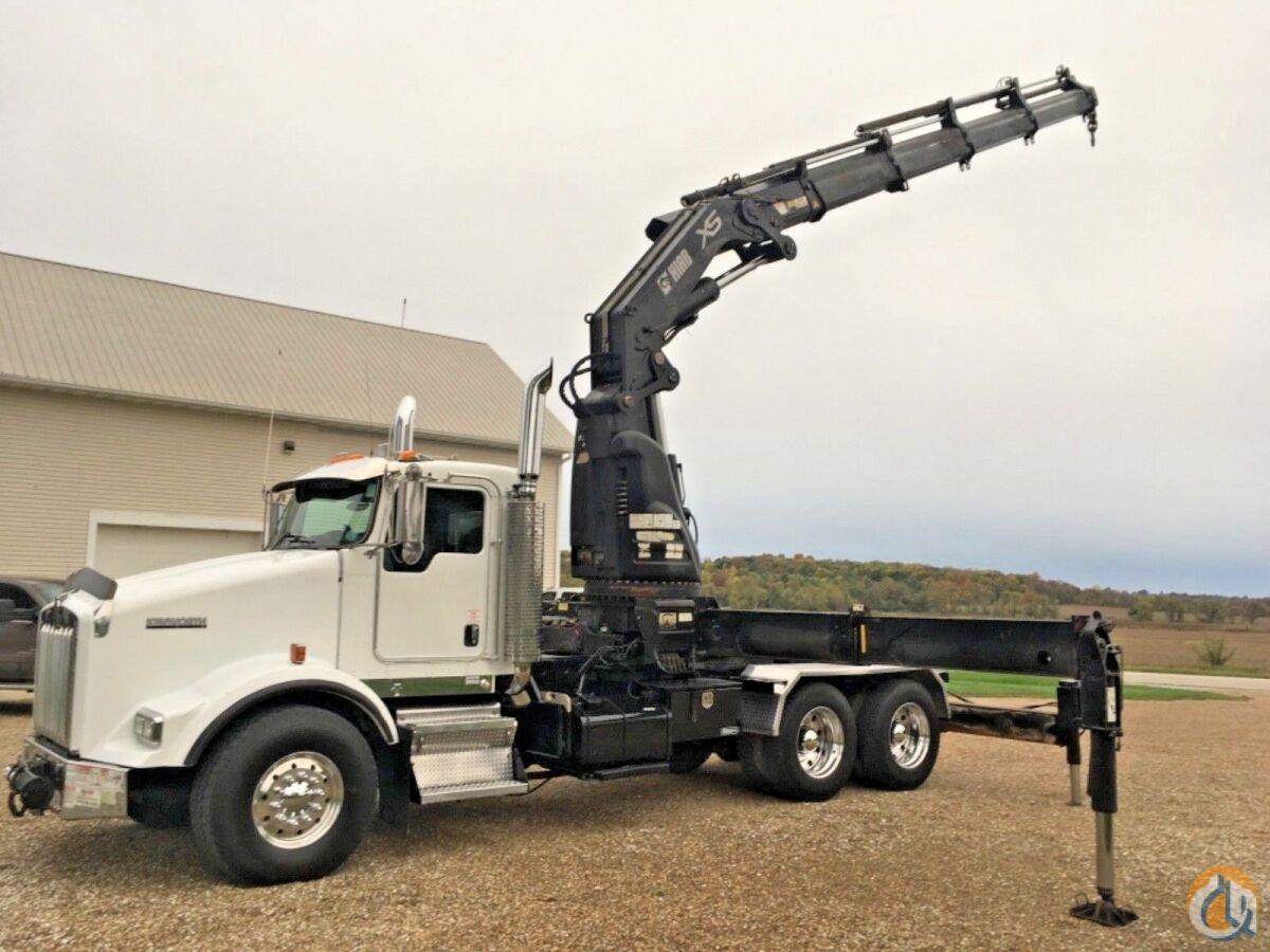 hight resolution of sold 2006 kenworth t800 hiab xs 600 knuckle boom crane crane for in wellman iowa on