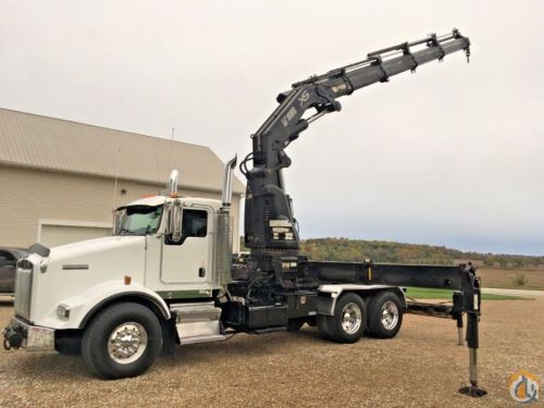 small resolution of sold 2006 kenworth t800 hiab xs 600 knuckle boom crane crane for in wellman iowa on