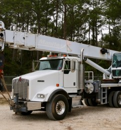 sold used manitex 5096s boom truck mounted to 2007 kenworth t800 chassis crane for in houston  [ 1200 x 800 Pixel ]