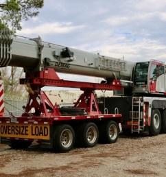 used 2017 demag ac100 4l all terrain crane crane for sale in houston texas on cranenetwork com [ 1200 x 800 Pixel ]