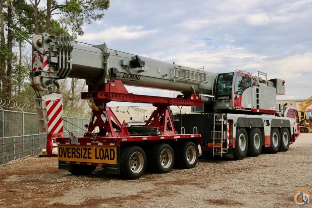 medium resolution of used 2017 demag ac100 4l all terrain crane crane for sale in houston texas on cranenetwork com