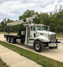 2012 national 8100d mounted on a peterbilt 348 crane for sale in houston texas on cranenetwork com [ 768 x 1024 Pixel ]