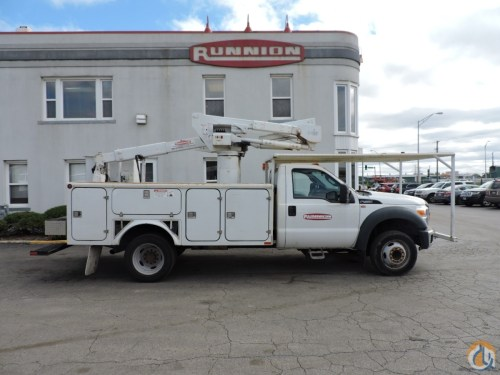 small resolution of versalift sst37 bucket truck on 2014 ford f450 crane for sale in hodgkins illinois on cranenetwork com