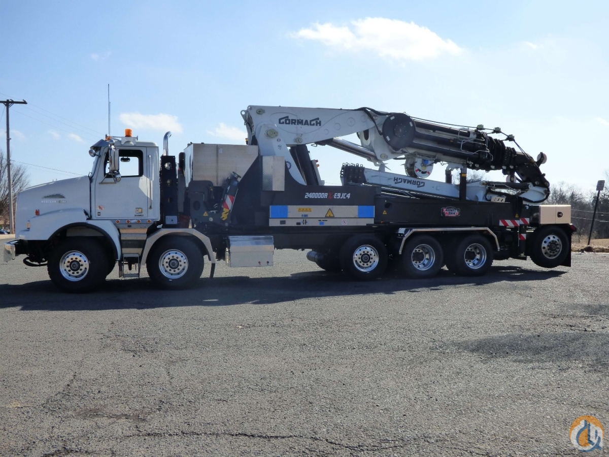 hight resolution of sold new cormach 240000ax e9 jc4rct1 a s c plus knuckle boom mounted to 2017 western star 4800ts