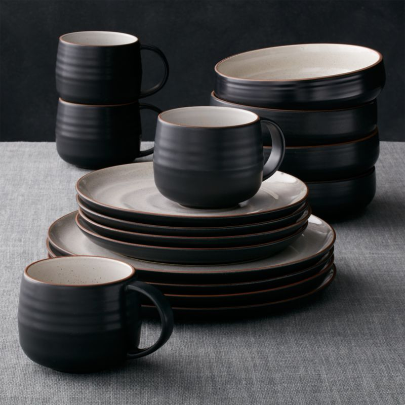 18th Street 16Piece Dinnerware Set  Reviews  Crate and