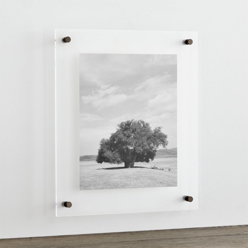 Gunmetal 19x16 Floating Acrylic Wall Frame  Reviews