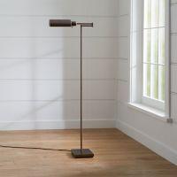 Adams Bronze Pharmacy Floor Lamp | Crate and Barrel