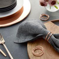 Aria Copper Napkin Ring + Reviews