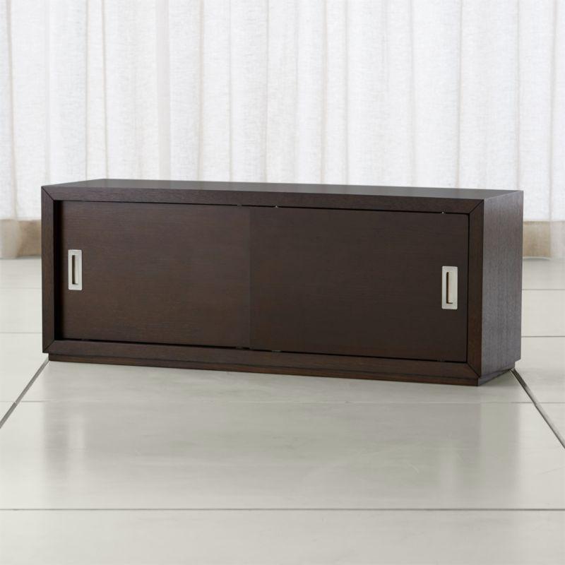 "Aspect Coffee 475"" Modular Sliding Door Storage Unit"