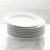 Set of 8 Aspen Dinner Plates | Crate and Barrel