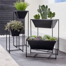 Astra Black Planters Crate And Barrel