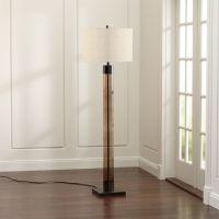 Avenue Bronze Floor Lamp | Crate and Barrel