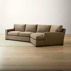Right Angled Sectional Sofa Home Furniture Images Axis Ii Brown 2-piece Arm Chaise Sect ...