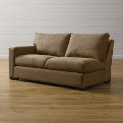 Sleeper Sofa Made In Usa Latex Cushions India Axis Ii Left Arm Full With Air Mattress ...