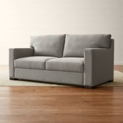 Crate And Barrel Sofa Sleeper Review Aarons Sectional Sofas Axis Ii Memory Foam Reviews