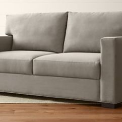 Loft Charcoal Sofa Bed 3 Seater Leather Brown Sleeper Sofas Twin Full Queen And King Beds Crate Barrel Axis Ii Ultra Memory Foam