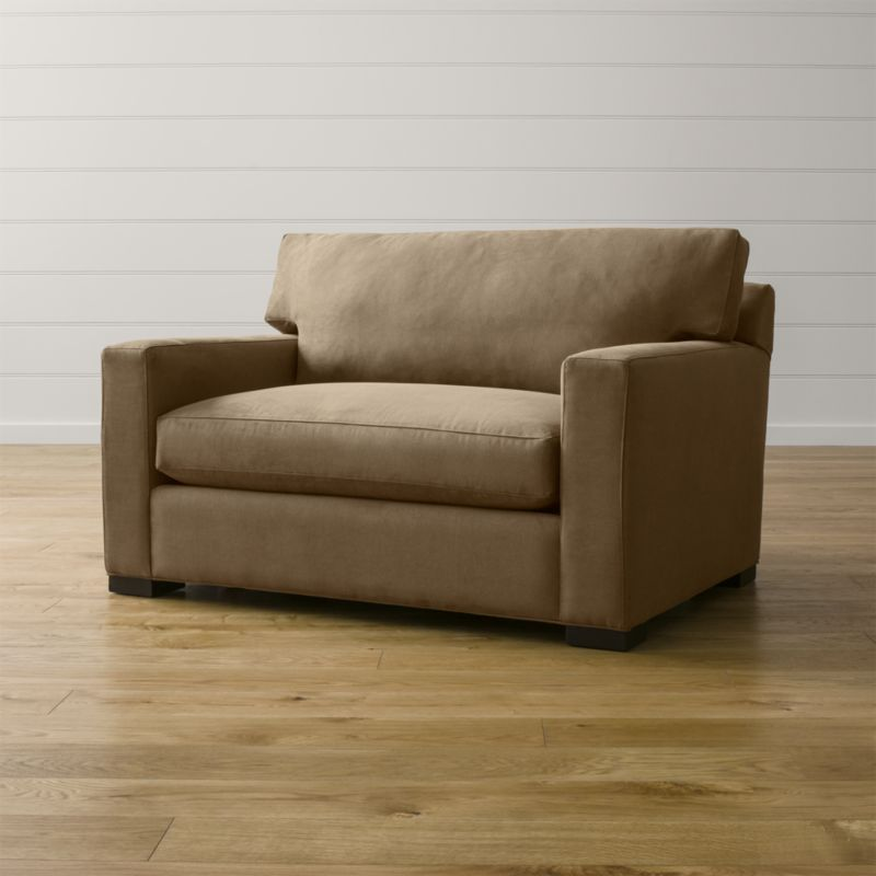 chair and a half sleeper diy adirondack trex axis ii twin reviews crate barrel axisiitwnslprchrnhlfcoffeeshs15 1x1