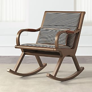 crate and barrel rocking chair clip on high nz chairs bakersfield