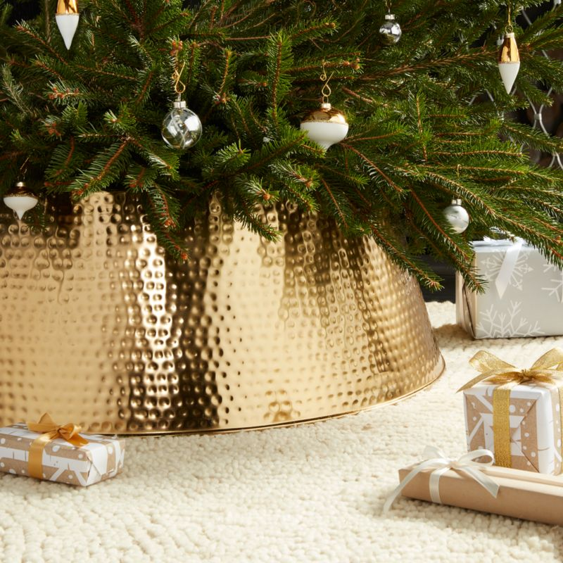 Bash Gold Tree Collar  Crate and Barrel