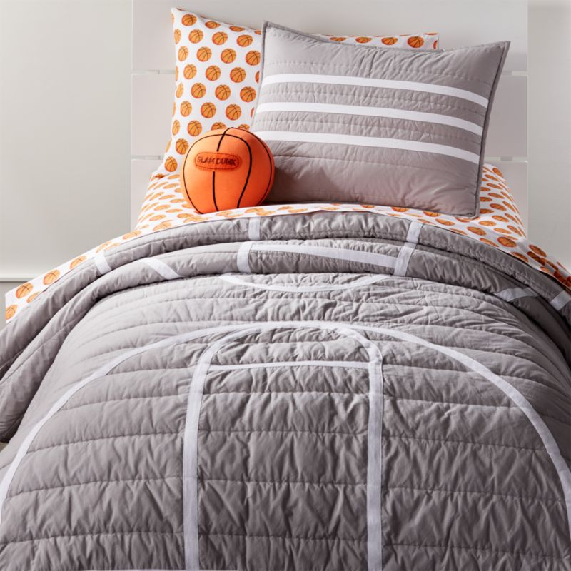 Twin Basketball Quilt Reviews Crate And Barrel